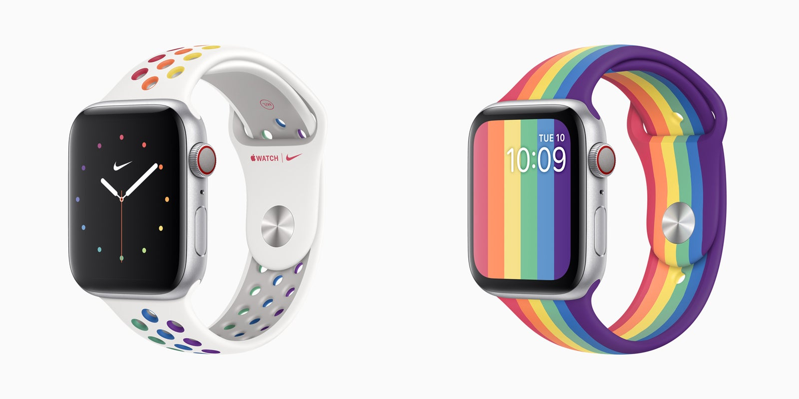 Apple celebrates virtual Pride with two new Apple Watch bands | Trusted Reviews