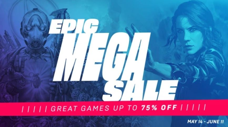 The Epic Games Mega Sale is here – save 50% on Borderlands 3, Control and more