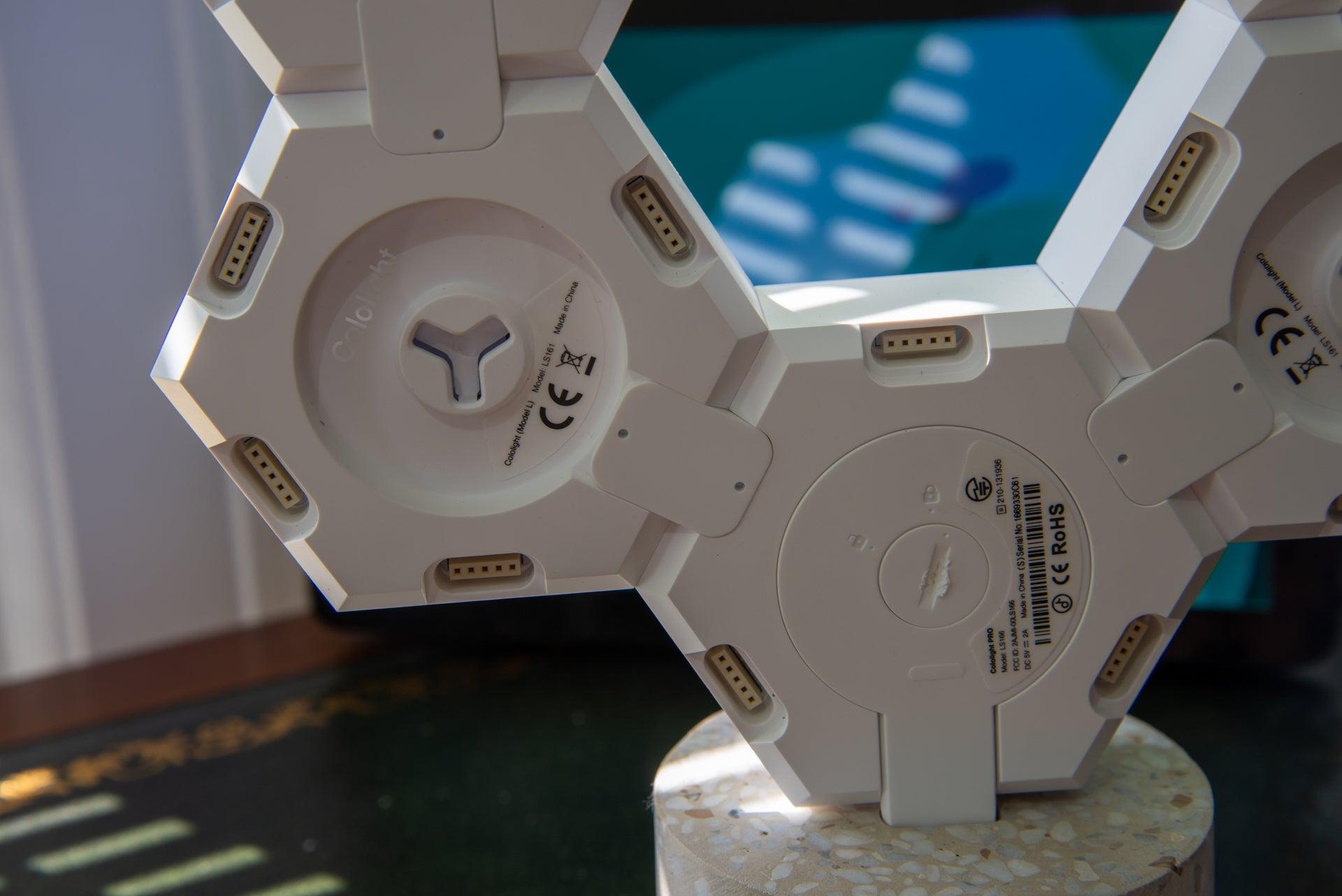 LifeSmart Cololight Pro rear connectors