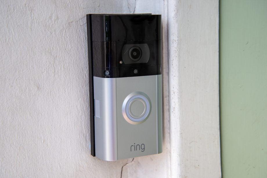 Ring Video Doorbell 3 Plus installed