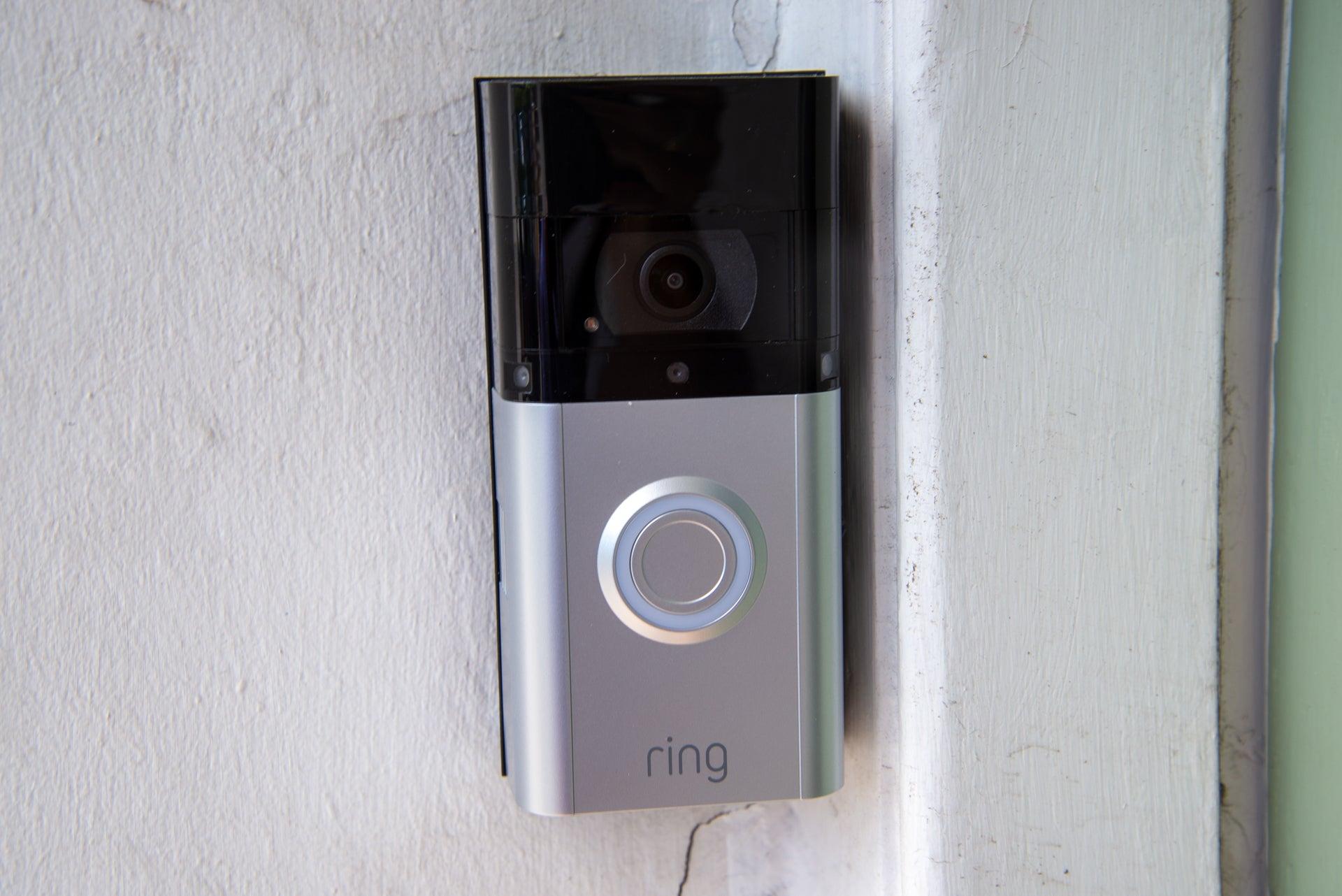 ring video doorbell battery powered