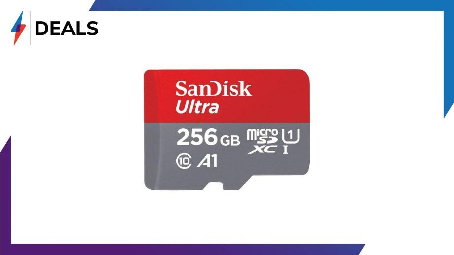 SanDisk 256GB Micro SD Deal