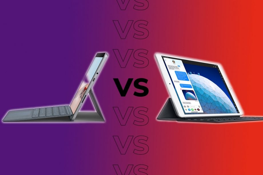 iPad Air vs Surface Go 2