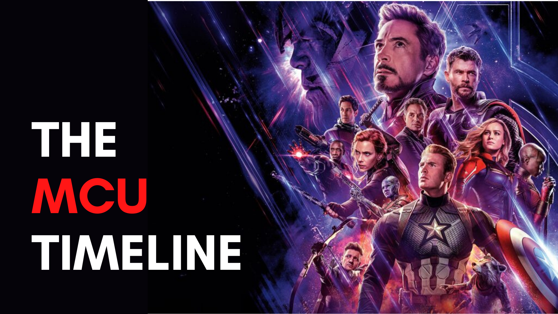 How to watch every Marvel film in order – the latest MCU timeline