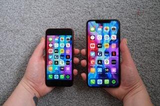 iphone SE 2 vs iPhone 11 Pro Max