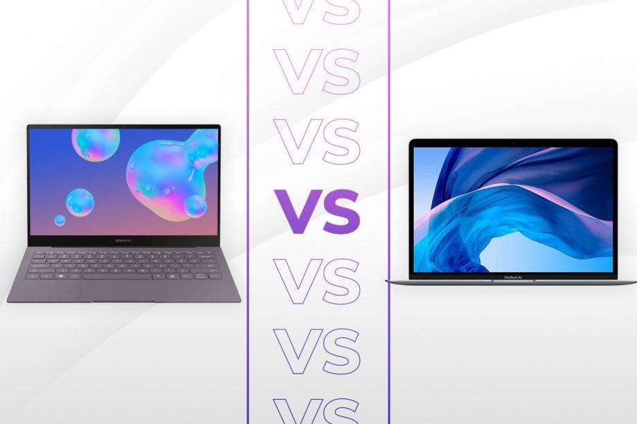 Samsung Galaxy Book S vs MacBook Air 2020