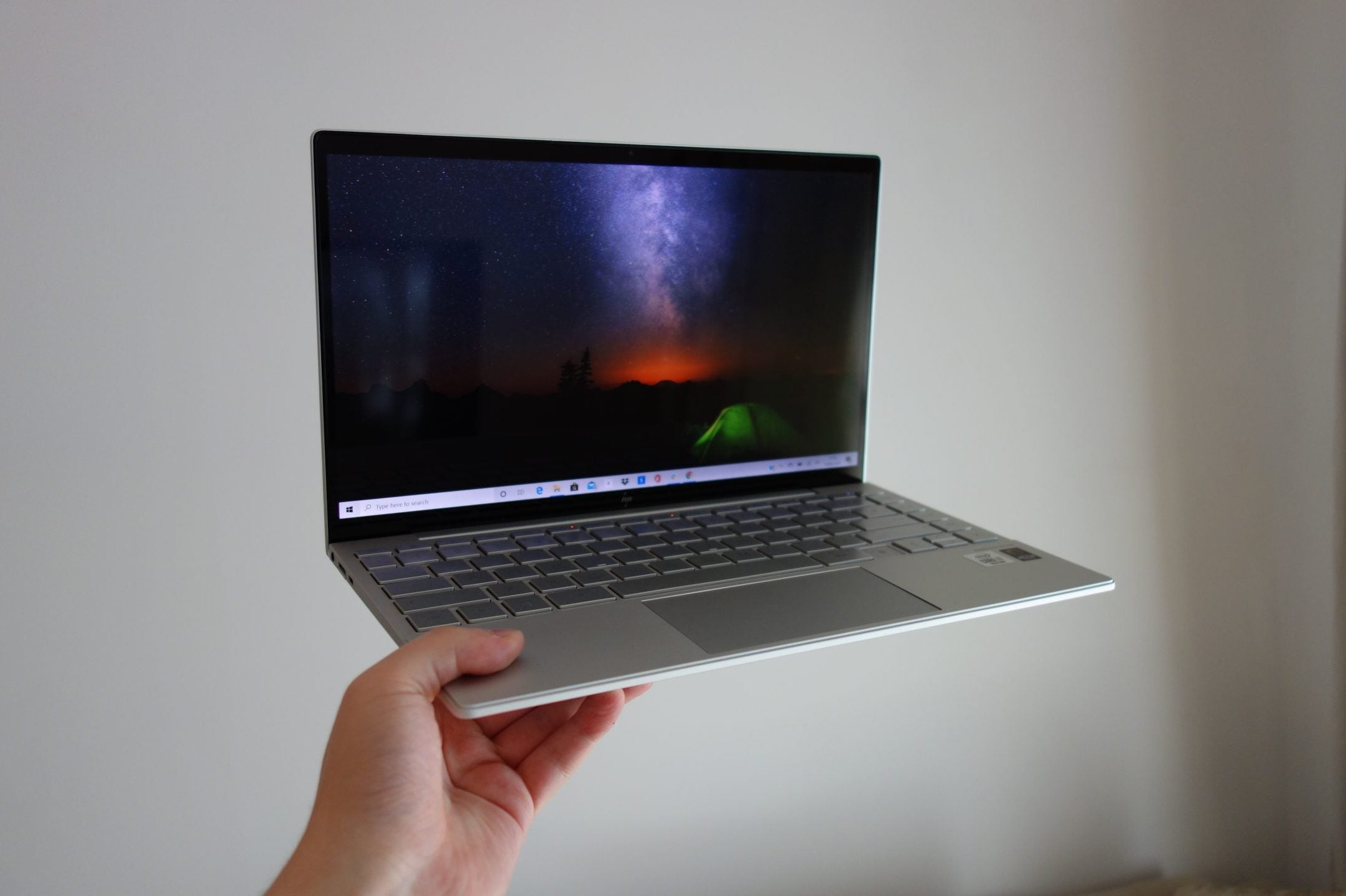 Een van de top 10 beste laptops 2021 - hp envy 13 2020