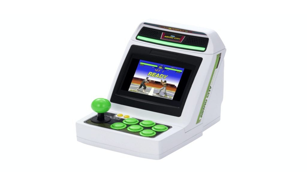 Sega Astro City Mini is the cutest arcade machine ever, but you can't buy it