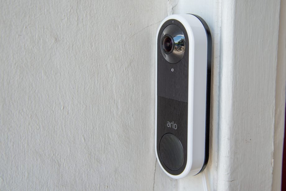 Arlo Video Doorbell side view