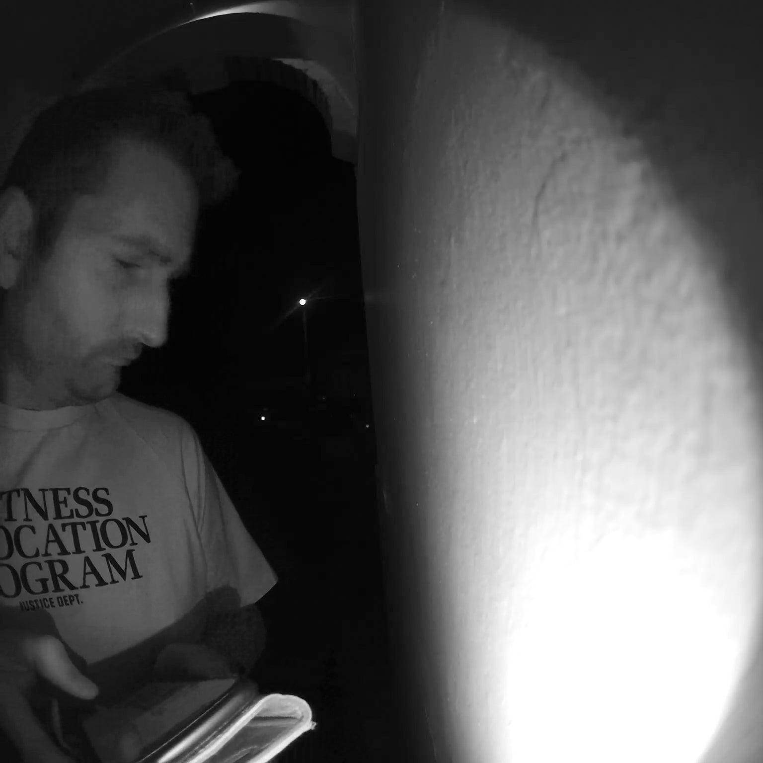 Arlo Video Doorbell Night Sample