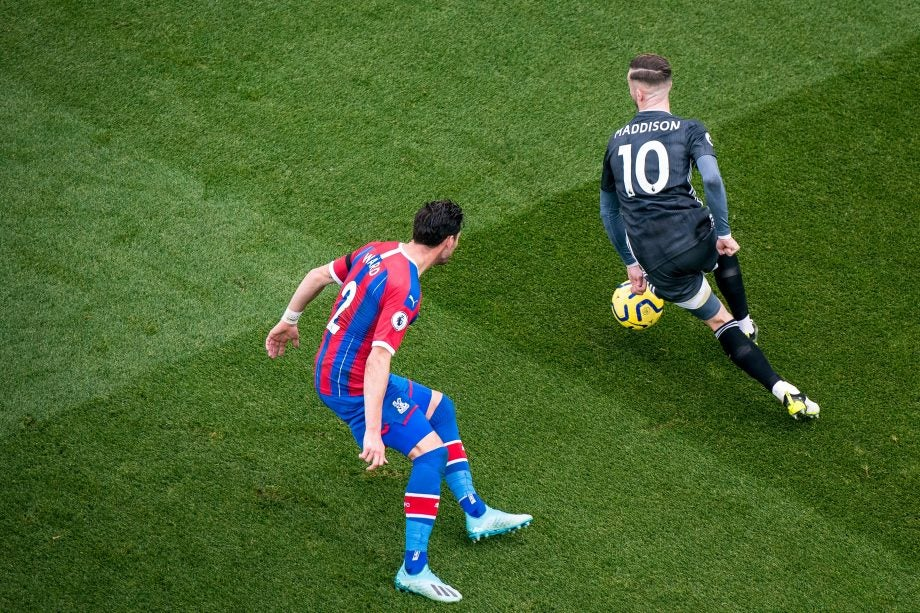 Crystal Palace vs Leicester - image via Getty