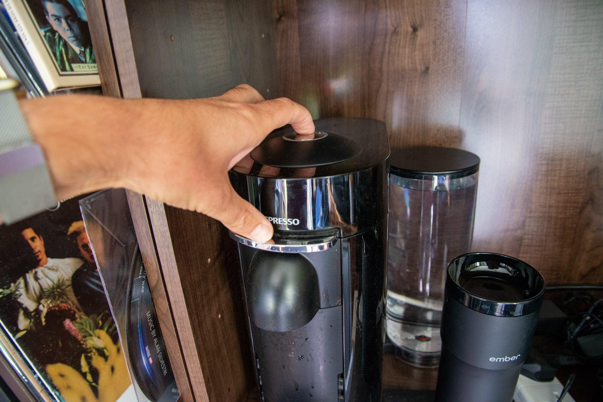 Nespresso exit descaling mode