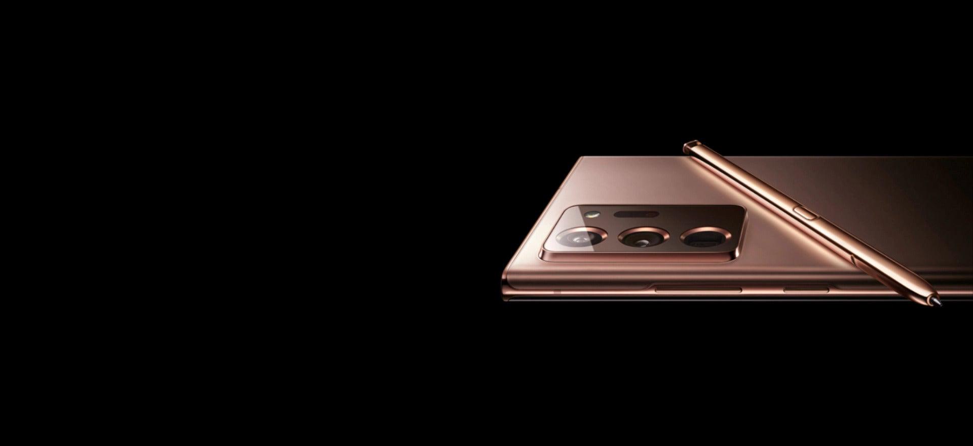 Galaxy Note 20 mystic bronze