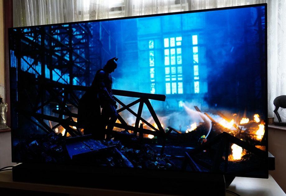 LG CX The Dark Knight