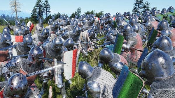 Manor Lords battle - image via Slavic Magic on Steam