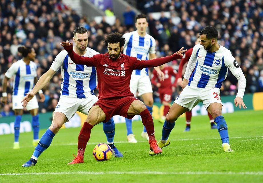 Brighton vs Liverpool
