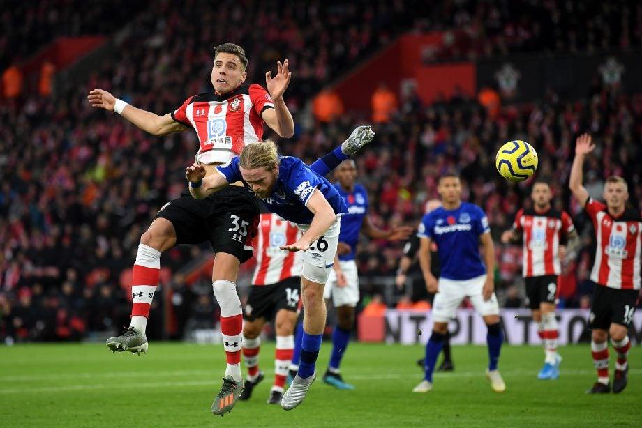 Everton vs Southampton - image via Getty