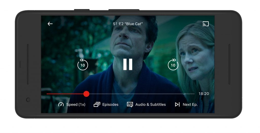 Netflix offers a change of pace with new playback speed controls