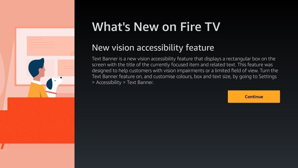 Amazon's latest Fire TV feature is designed to assist the visually impaired