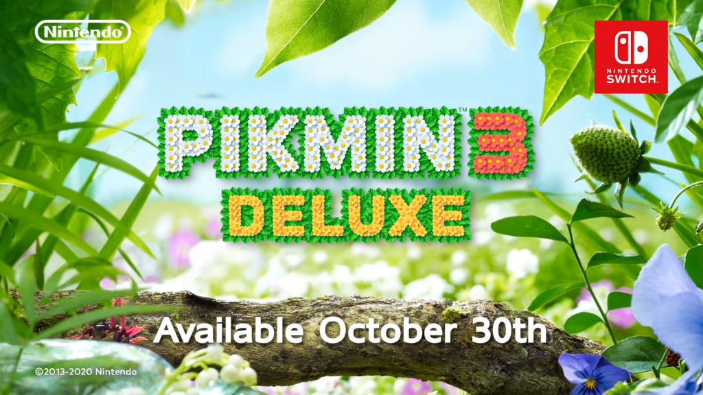 Pikmin 3 Deluxe will march onto Nintendo Switch this October