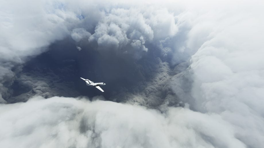 Flight Simulator Hurricane Laura