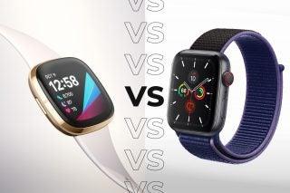 Fitbit Sense vs Apple Watch 5