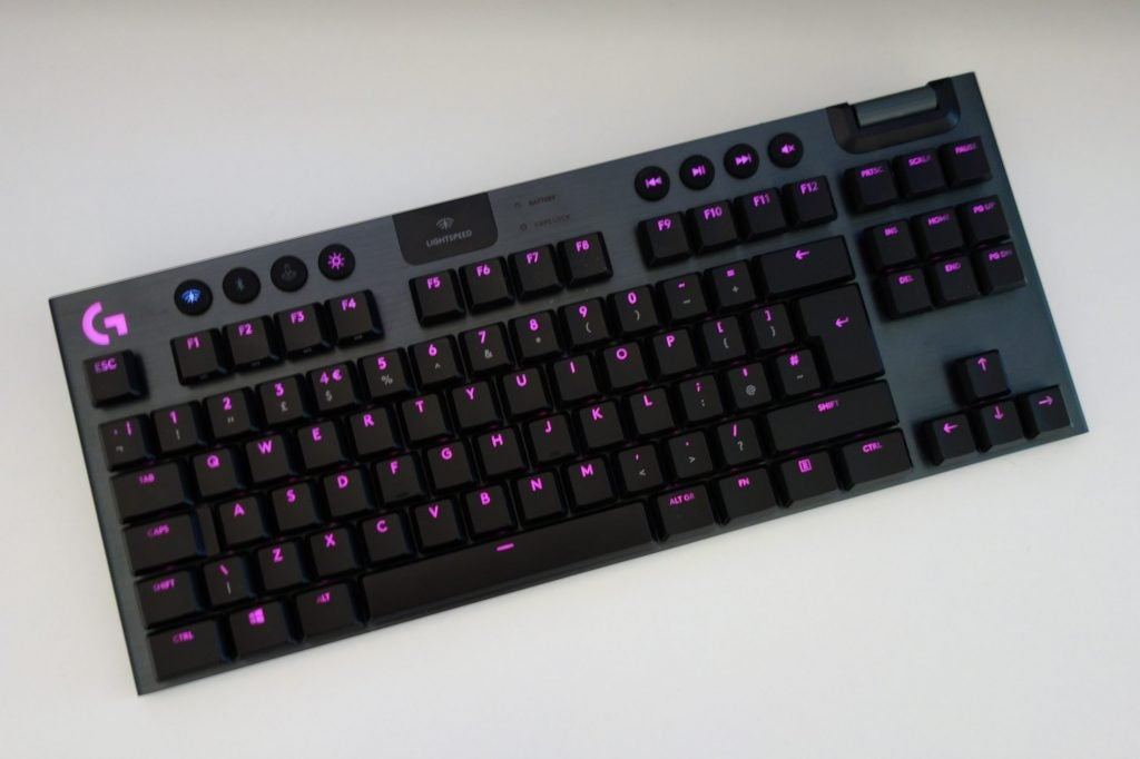 Logitech G915 TKL - best gaming keyboard