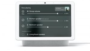 Google Nest Hub multi-room audio