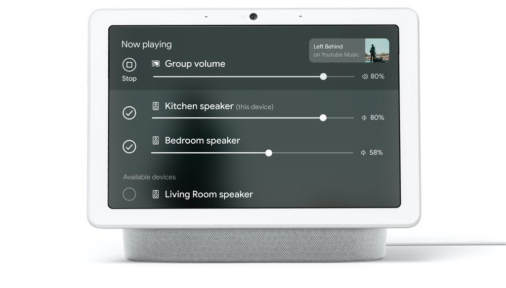 Google Nest challenges Sonos with new multi-room audio tools