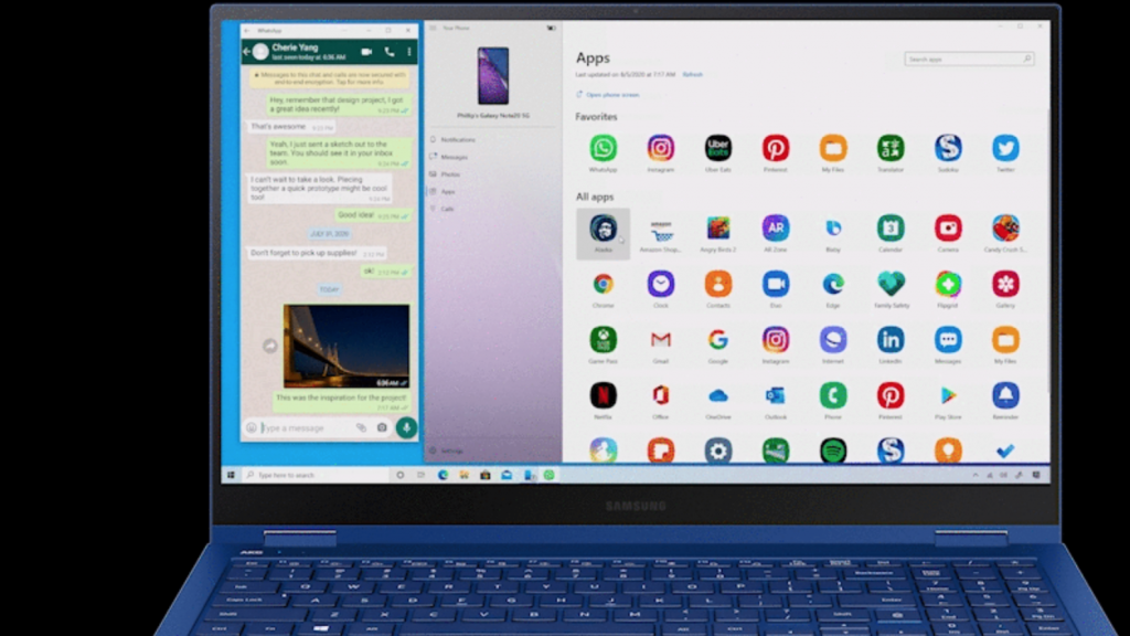 Android app streaming coming to Windows 10 via Your Phone app