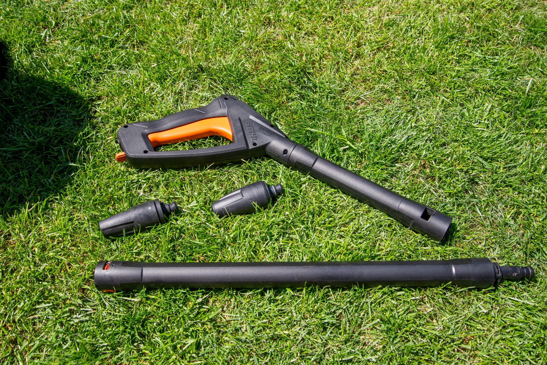 Stihl RE 110 handle and nozzles
