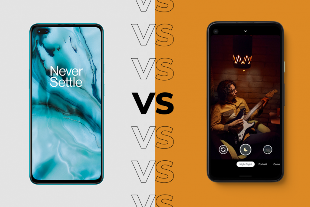 Pixel 4a vs OnePlus Nord: All the specs, features and prices compared