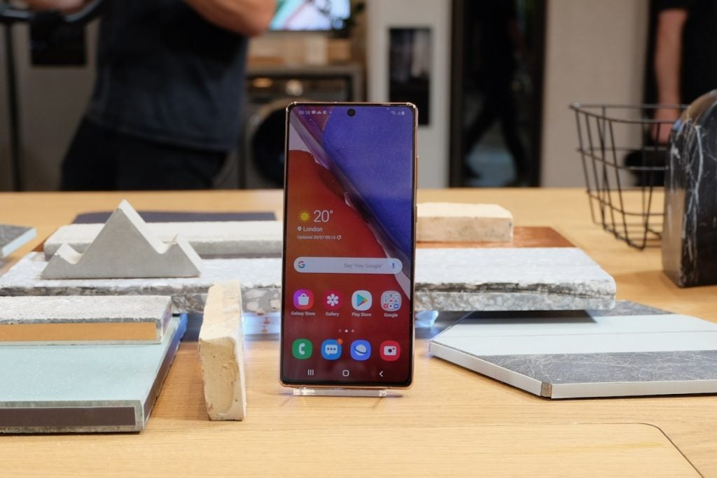 Galaxy Note 20 launch event brings huge boost for Samsung phone owners