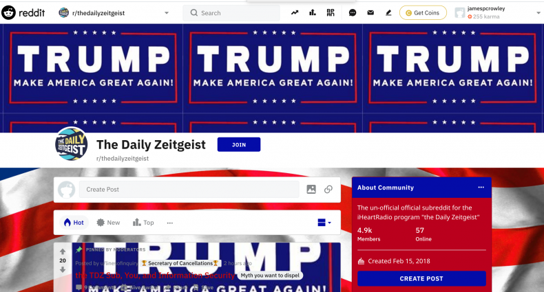 Pro-Trump hackers have taken over your favourite subreddits