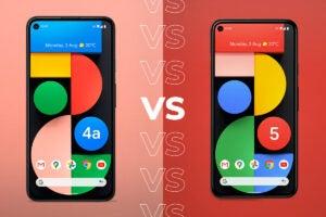 Pixel 4a 5G vs Pixel 5