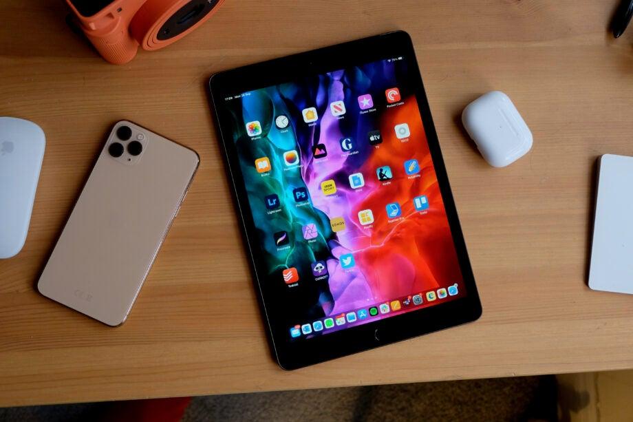 iPad 8 on desk