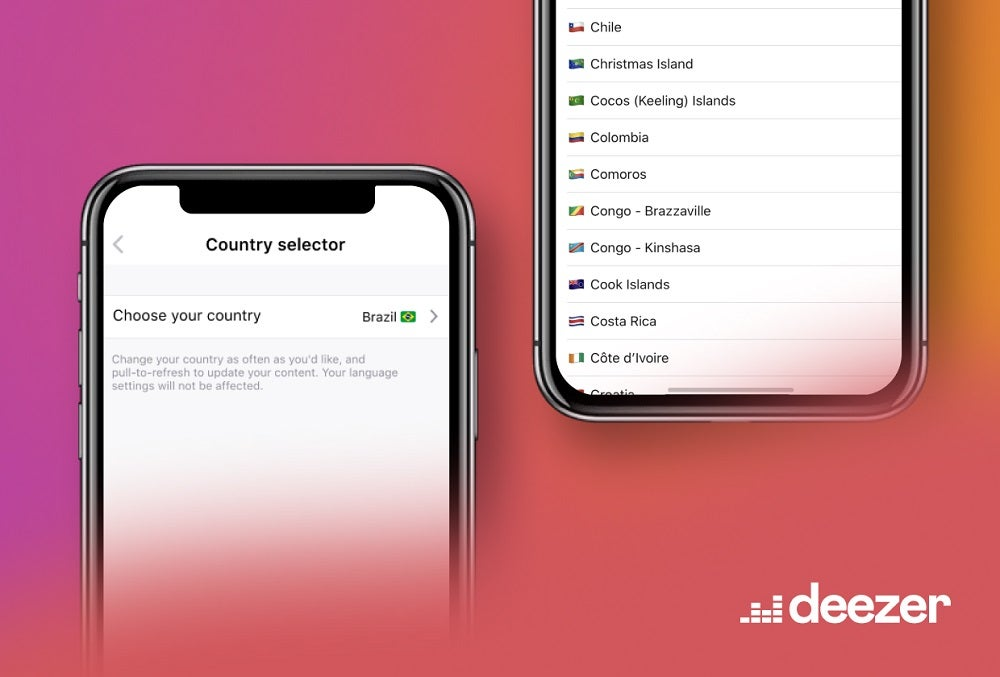 Deezer's 'Country Selector' lets you choose music from any country | Trusted Reviews