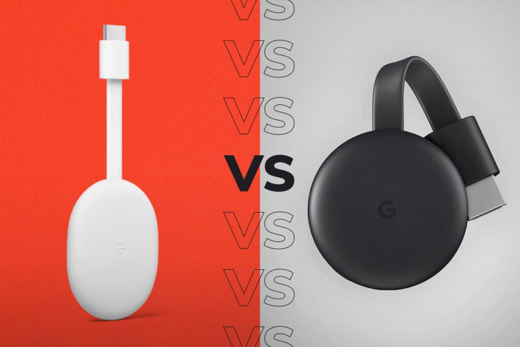 Google Chromecast vs Chromecast with Google TV - What's the difference?
