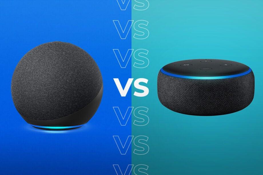 Amazon Echo Dot (4th generation) vs Amazon Echo Dot (3rd Generation)