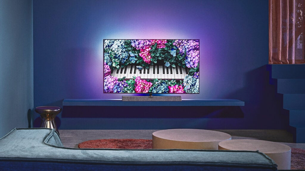 The Philips 65OLED+935 in someone else's living room.