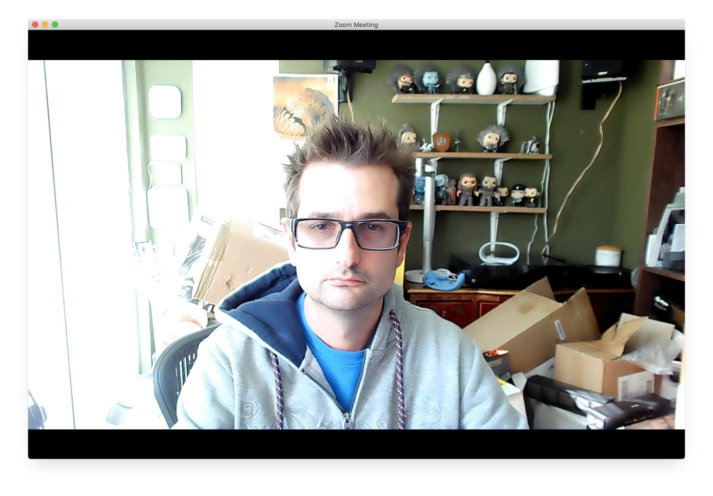 Creative Live! Cam Sync –Zoom Blinds Shut