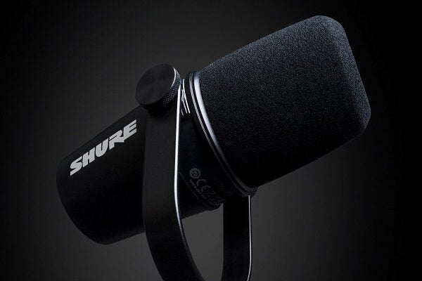 Shure MV7 Podcast