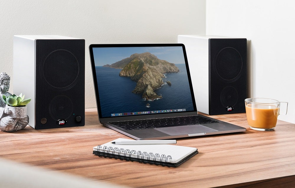 PSB introduce two new powered speakers in the Alpha AM3 and AM5