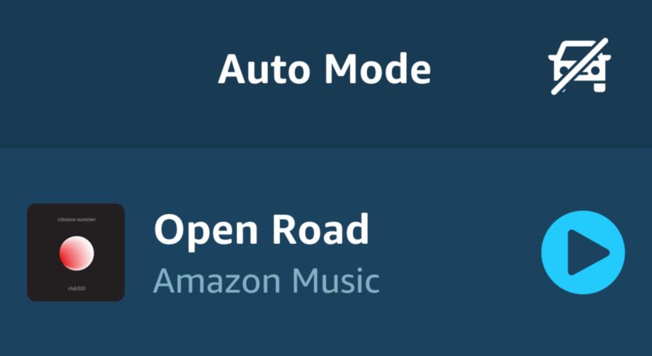 Amazon Alexa Auto