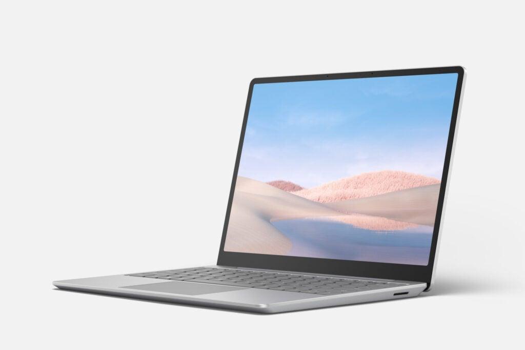 Surface Laptop Go vs Macbook Arm