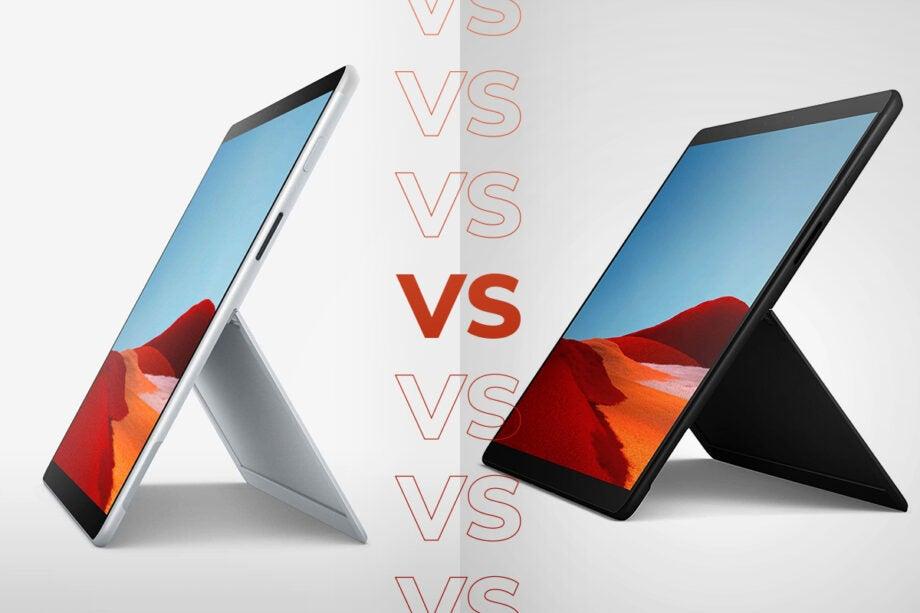 Surface Pro X 2020 vs Surface Pro X 2019