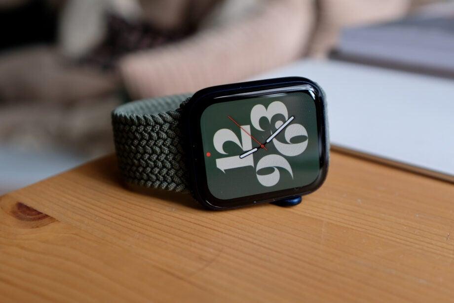 Apple Watch 6 face