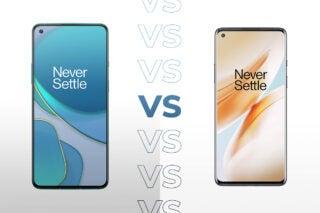 OnePlus 8T vs OnePlus 8