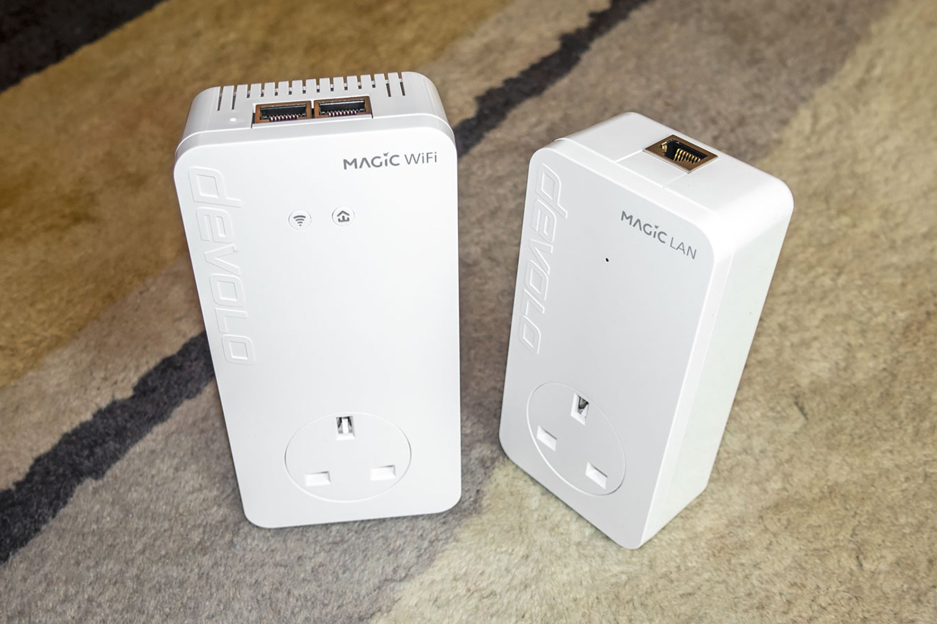 The best powerline Wi-Fi Extender is the Devolo Magic 2 WiFi next