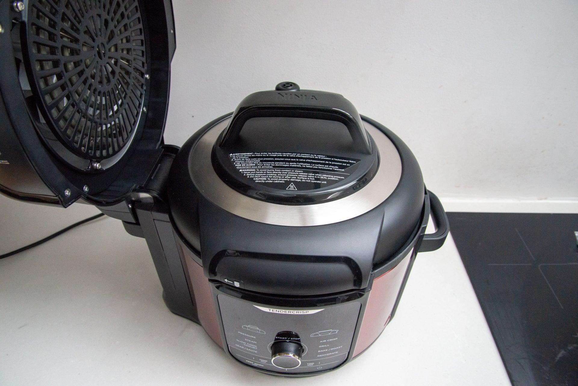 Ninja Foodi MAX OP500UKDB pressure lid